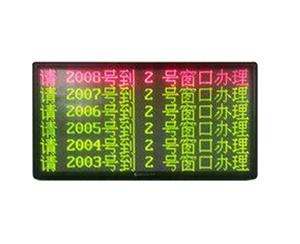 6行8汉字显示窗口屏 RJ-LED6X8